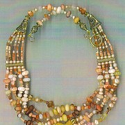 (BIG Mexican Fire Opals & cultured pearls) : Fire Power