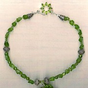 SALE Green Peridot : Green with Envy