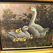 SALE Original Oil/Canvas by Lowell Davis - 1987