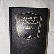 SALE Homemakers' Cookbook And Guide to Nutrition 1946 by Esther Gardner