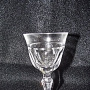SALE Josair Fine Crystal Empire Pattern Cordial Goblet