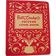 SOLD Vintage 1950 Betty Crocker's Picture Cook Book 5 Ring Binder First Edition Seventh Printi