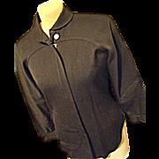 Vintage 1940's White Stag Ski Togs Kerr's Beverly Hills Women Wool Shirt Jacket