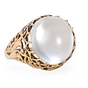 SALE Magical Mystery Moonstone Ring
