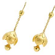 REDUCED Ring the Bells: Victorian Floral Bells Earrings