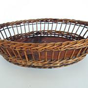 SALE Oval Shape French Basket