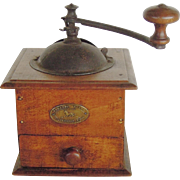 Peugeot Wood French Coffee Grinder