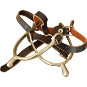 SALE Pair of Cavalry Spurs with Straps, Ca. 1917