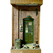 SALE Got Cat, August 1975, Michael Garmin Diorama