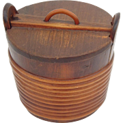 An early 19th C Scottish Coopered Dairy Tub
