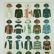 Vintage Reprint from a 1912 Original English Soccer Jerseys & Hats