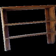 SALE Antique English Pine Shelf