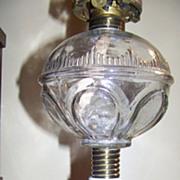 Atterbury C 1870 Prism and Loop Oil or Kerosene Lamp Excellent