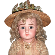 """SALE Lovely 24"""" Steiner A Circa 1889 Antique Doll - Layaway"""