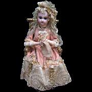 "SALE 18"" Knitter Automaton - Antique Jumeau Head- Layaway"
