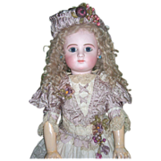 """SALE 28"""" Steiner C Antique Doll in Couture Dress - Layaway!"""