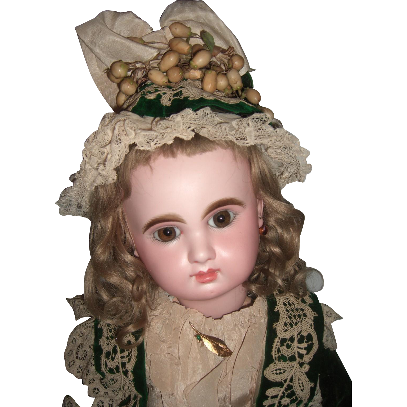 """RARE 23"""" Bebe Mascotte Antique Doll By May Freres Layaway"""