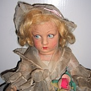 SALE Lenci Doll Bambola - All Original Tagged w/Lucia Face