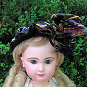 """REDUCED BARGAIN!! Closed Mouth Antique Tete Jumeau Doll 25""""w/Corset! LAYAWAY"""