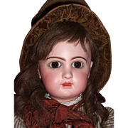 "RARE 24"" E11D Circa 1892 Antique Jumeau Doll by Emile Douillet - Orig. Shoes Layaway"