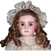 """SALE 16"""" Steiner Antique Doll with Mint Antique Dress/Shoes Layaway"""