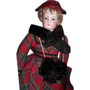 "REDUCED ALL ORIGINAL 18"" French Fashion Antique Doll - Layaway"