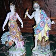 SALE RARE Eugene Max Clauss Pair of Figurines