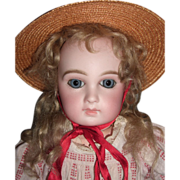 """SALE Early 16"""" Jumeau Antique Doll - Premiere  Circa 1878 - 8 Loose Ball Body - LAYAWAY"""