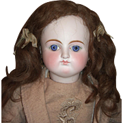 "24"" Sonnenberg German Antique Doll for French Market - Spiral Threaded Glass Eyes - Layaw"