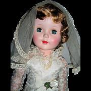 """SALE 23"""" MINT Sweet Sue Walker  - Wedding Gown"""