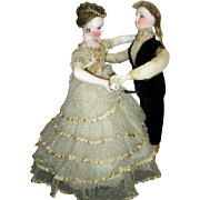 REDUCED RARE ALL ORIGINAL Automaton - Waltzing Couple by Vichy