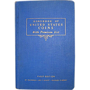 SALE 1942 Handbook of United States Coins ~ FIRST EDITION ~ R.S Yeoman Blue ...