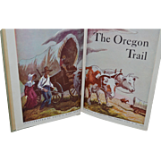 SALE The Oregon Trail by Francis Parkman, Thomas Hart Benton (illustrator). Garden City, New .