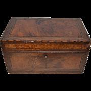 SALE Inlaid Wooden Box