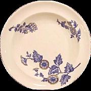 "SALE (2) Serving Bowls- COPELAND FLOW BLUE - ""Ashburne"" Pattern -1850-1867"