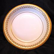 SALE Elegant Limoges Porcelain Bowl ~ ca. 1900 Studio Decorated with Gold ~ Union Ceramics ...