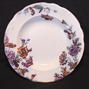 "SALE Wonderful English Multi-Colored Transferware Bowl ~ Pattern ""Padora"" ~ Ridgways 1930"
