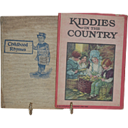 SALE Childhood Rhymes _ by James Cromwell William Craig age 8 1903 / Kiddies in the ...