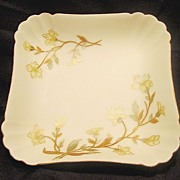 SALE Beautiful 138 Year Old ~ Limoges Porcelain Dish ~ Matte / Bisque Finish ~ Hand ...