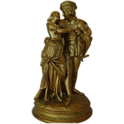 SALE Beautiful Florentine Statue / Figurine of Romeo & Juliet No. 933 ~ by Casper Hennecke Mil