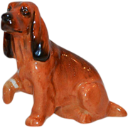 SALE Cocker Spaniel K9  - Royal Doulton Figurine – Brown with Black Markings ~ Royal Doulton