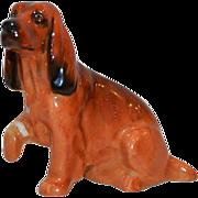 SALE Cocker Spaniel K9  - Royal Doulton Figurine – Brown with Black Markings ~ Royal Doulton