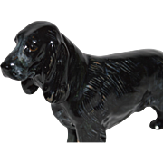 SALE Figurine Dog Sporting ~ Royal Doulton ~ Black Gray Cocker Spaniel  HN1021 B 3 ...