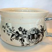 SALE Great English Ironstone Aesthetic Chamber Pot ~ Oriental Design ~ Geisha Girl ~ Yeddo ...