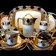 SALE Stunning and elegant. Haviland Limoges and Bavaria Porcelain 20 PIECE CHOCOLATE Set ~ Han