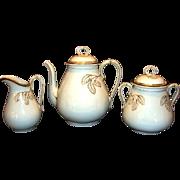 SALE Elegant 5 Piece Coffee Set ~ Coffee Pot, 1lb Sugar and Creamer ~ Limoges ...