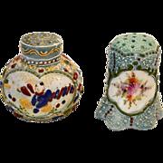 SALE 2 ~ Nice Japanese Moriage Decorate Salt Shakers