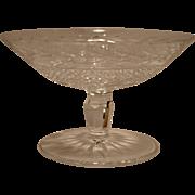 "SALE Beautiful Irish Cut Crystal ~ Waterford Dessert Compote 6 ¼"" W~ Glandore Pattern ~ ..."