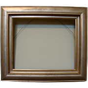 SALE Old Wood Gold Picture Frame