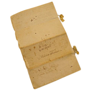 SALE 1811 Original hand written Orphan's Court transcript; Northampton County, Pennsylvania -